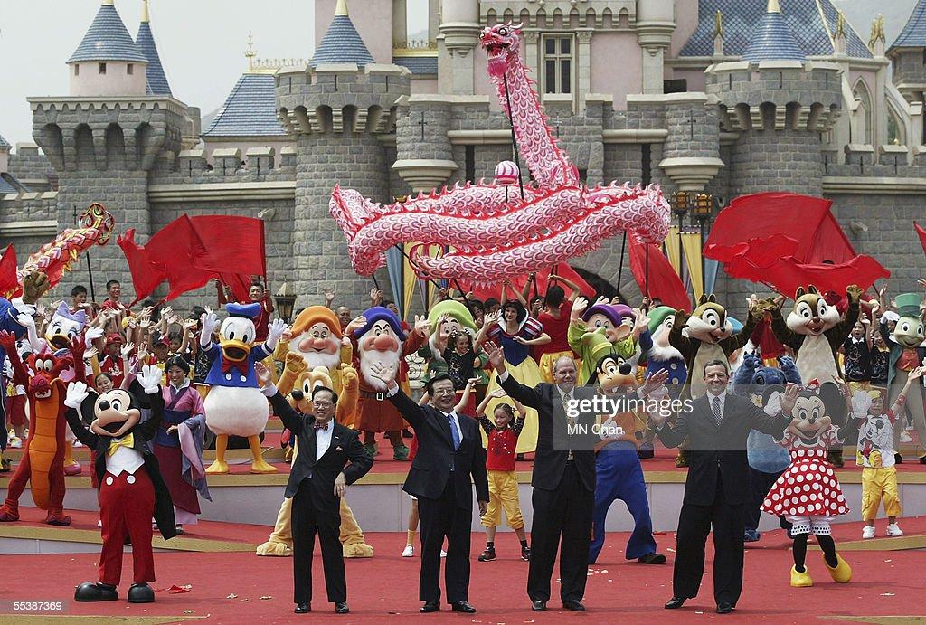 Grand Opening Of Disneyland In Hong Kong : News Photo
