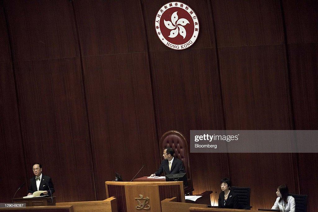 Hong Kong's Tsang Pledges Subsidized Homes, Inflation Relief