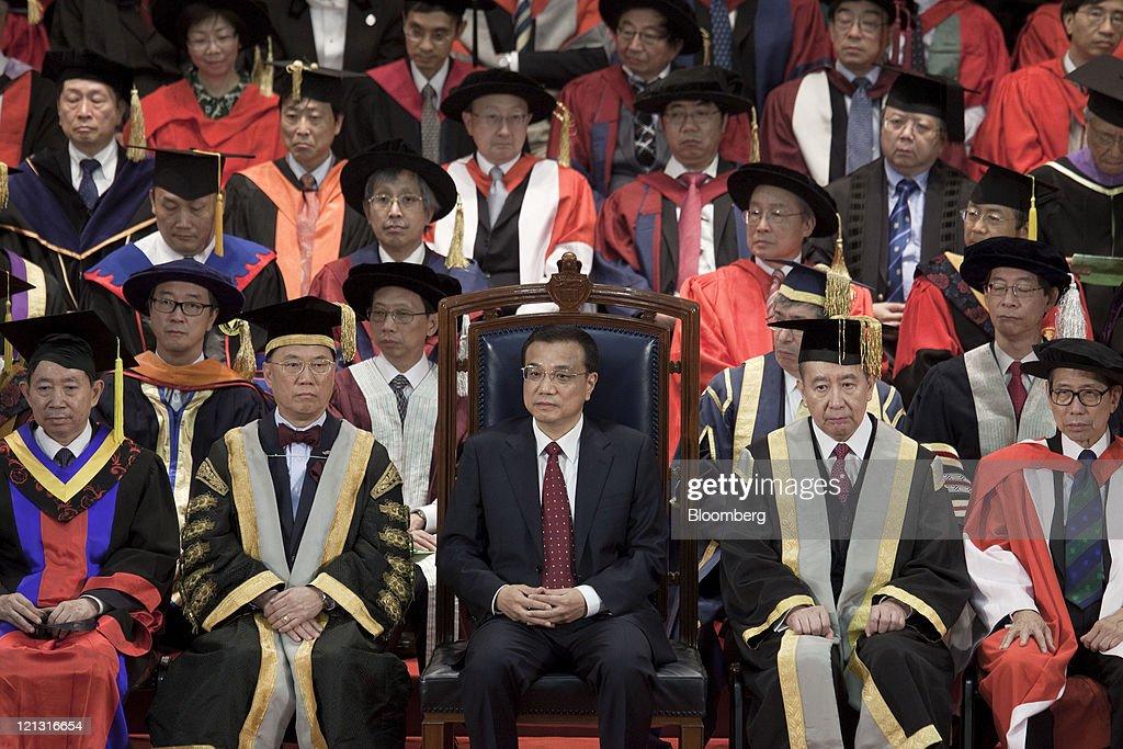 China Vice Premier Li Keqiang On Official Visit To Hong Kong