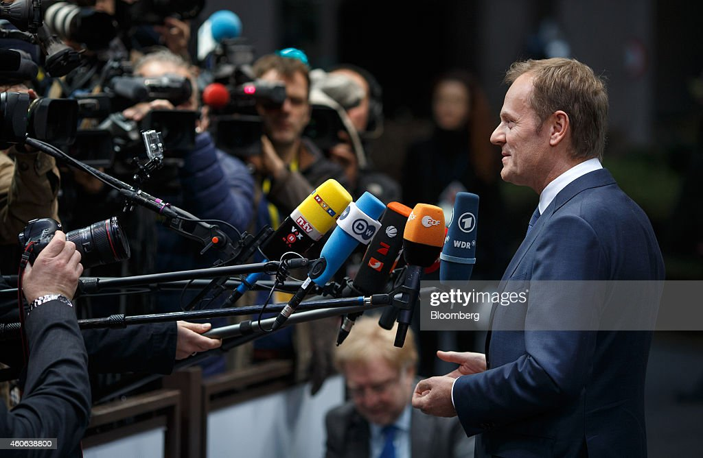 European Leaders Attend European Union Summit : News Photo