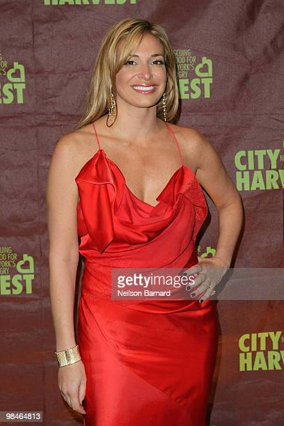 "Donatella Arpaia attends City Harvest's 16th annual ""An Evening Of Practical Magic"" at Cipriani 42nd Street on April 14, 2010 in New York City."