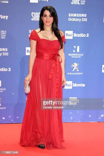 Donatella Finocchiaro attends the 64 David Di Donatello awards on March 27 2019 in Rome Italy