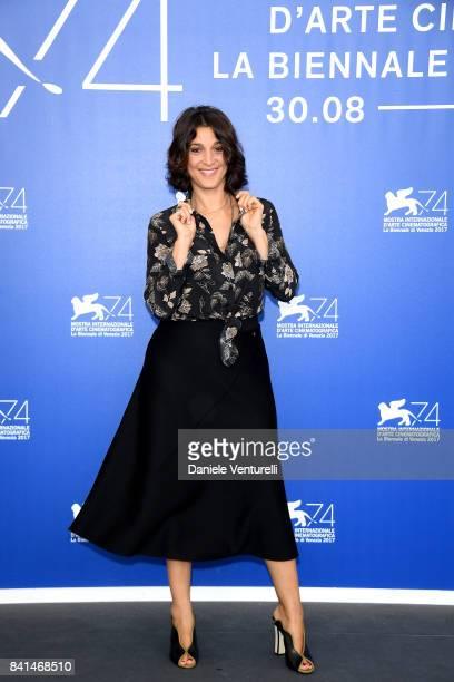 Donatella Finocchiaro attends the 'Nato A Casal Di Principe' photocall during the 74th Venice Film Festival on September 1 2017 in Venice Italy