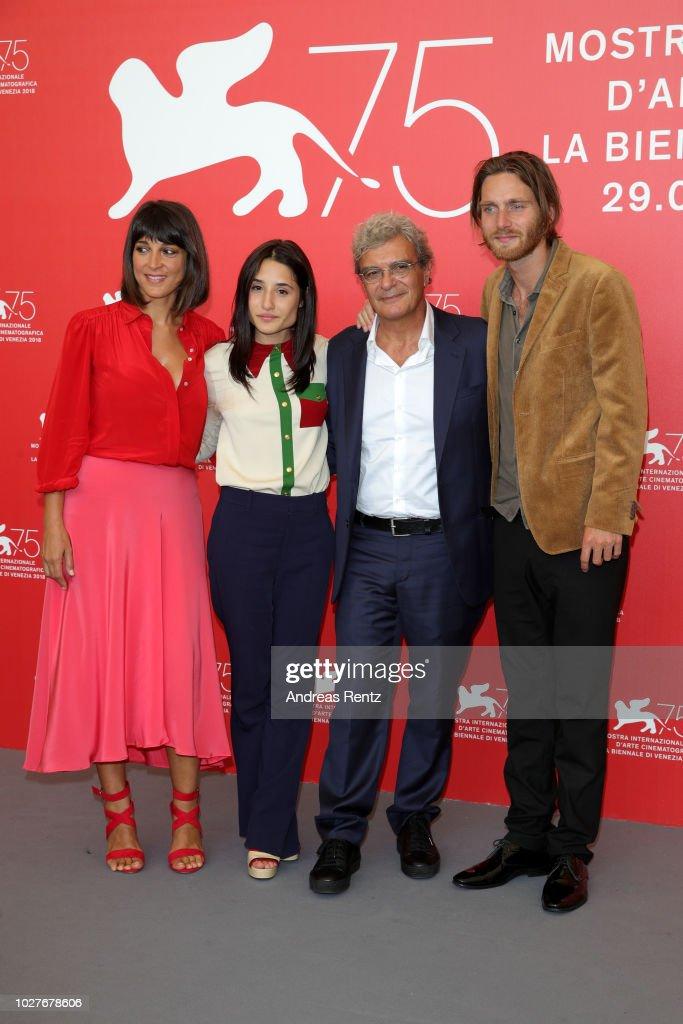 ITA: Capri-Revolution Photocall - 75th Venice Film Festival