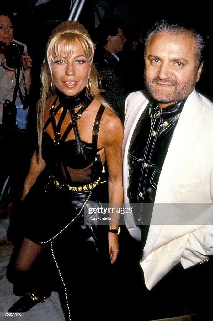 Donatella & Gianni Versace