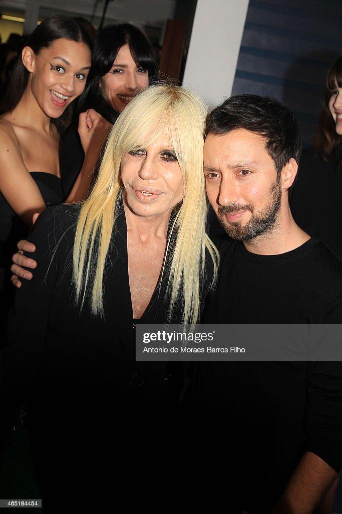 Anthony Vaccarello  : Backstage - Paris Fashion Week Womenswear Fall/Winter 2015/2016