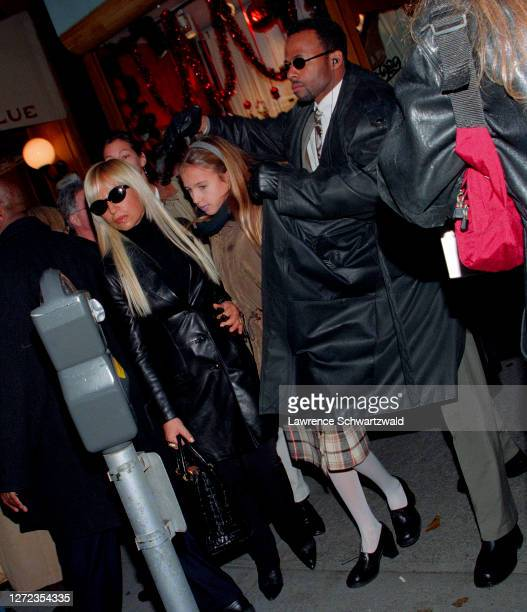 Donatella Versace and daughter, Allegra Beck Seen for First time since Gianni Killing by Andrew Cunanan, NYC