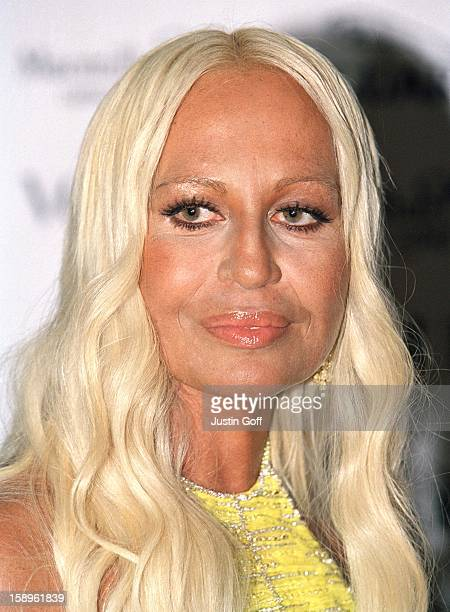 9546781c53b Donatella Versace Attends The It'S Fashion Fundraising Gala In Aid Of Macmillan  Cancer Relief Hosted By