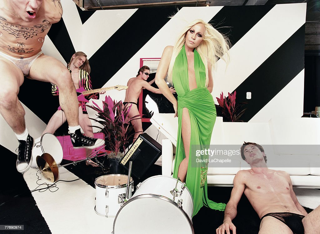 Donatella Versace; Donatella Versace by David LaChapelle; Donatella Versace, Interview, January 1, 2000