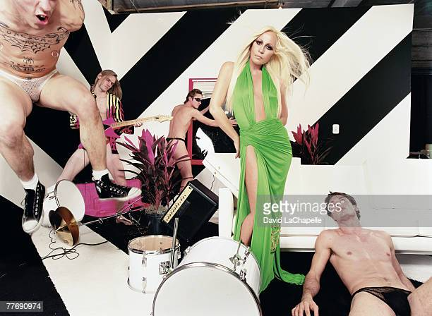Donatella Versace Donatella Versace by David LaChapelle Donatella Versace Interview January 1 2000