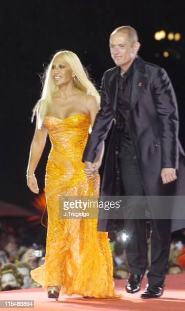 Donatella Versace during The 13th Annual Life Ball at Vienna City Hall in Vienna Austria