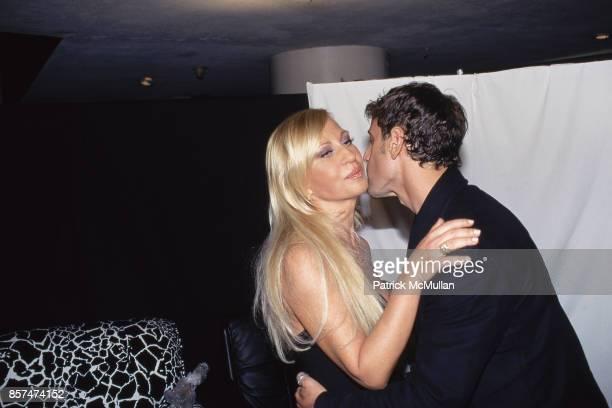 Donatella Versace Steven Klein Versus fashion show NYC March 28 1998