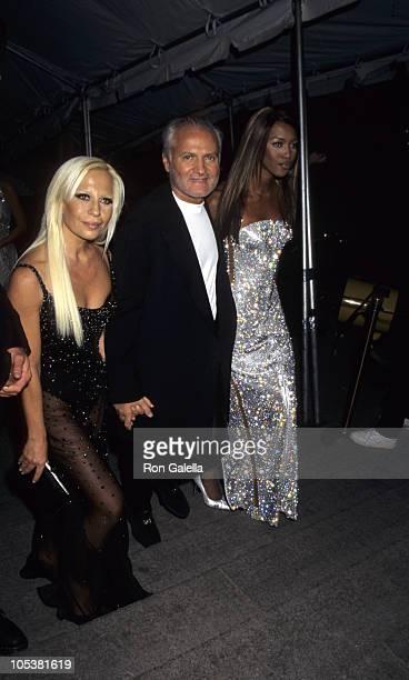 Donatelli Versace Gianni Versace and Naomi Campbell