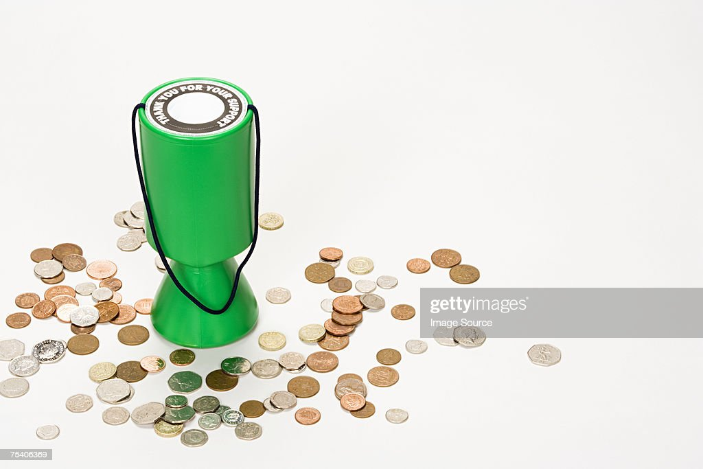 Donation box : Stock Photo