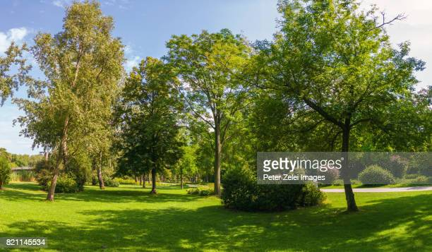Donaupark in the district of Donaustadt, Vienna, Austria