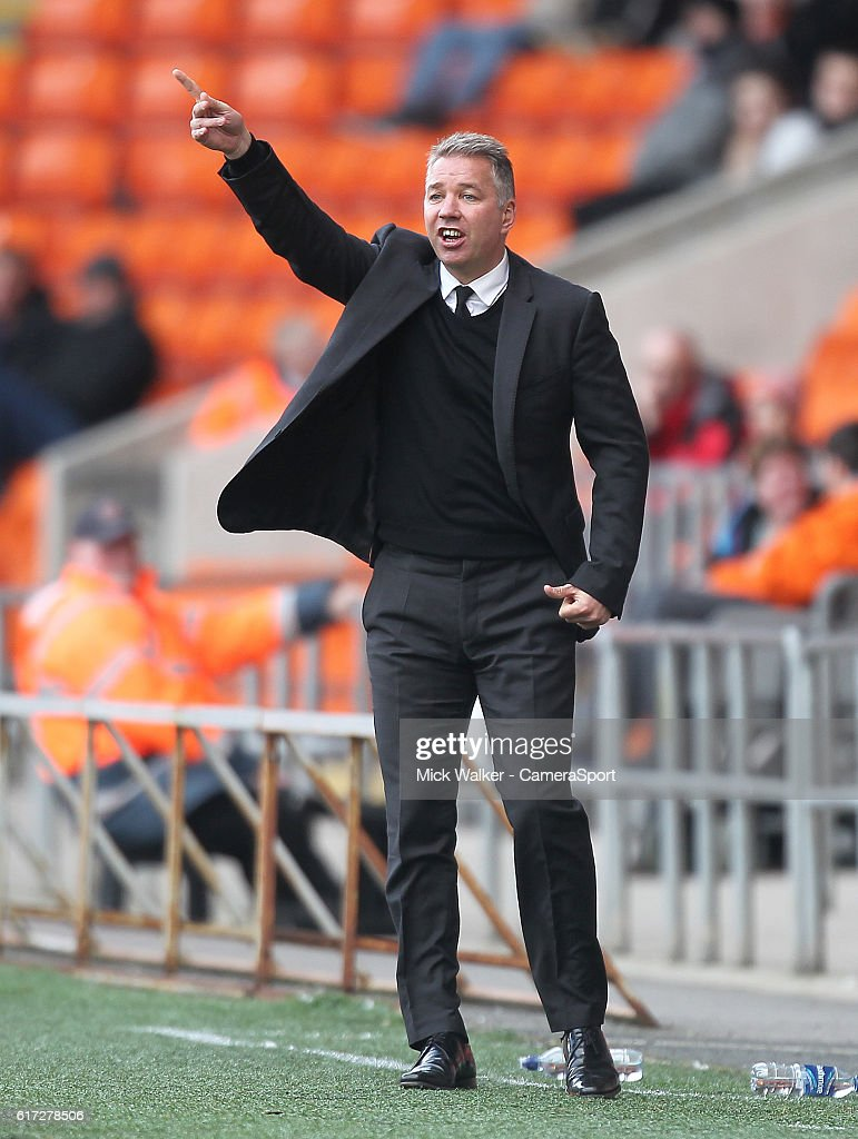 Doncaster Rovers' Manager Darren Ferguson during the Sky Bet League Two match between Blackpool and Doncaster Rovers at Bloomfield Road on October 22, 2016 in Blackpool, England.