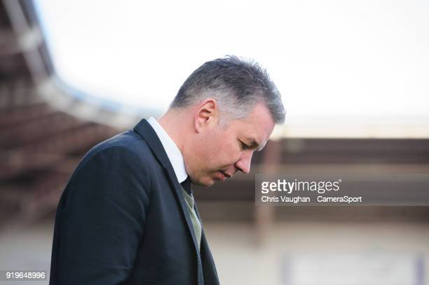 Doncaster Rovers manager Darren Ferguson during the Sky Bet League One match between Doncaster Rovers and Fleetwood Town at Keepmoat Stadium on...