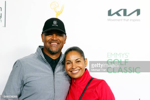 Dondré T. Whitfield and Salli Richardson-Whitfield attend the 21st Annual Emmys Golf Classic Tournament to benefit the Television Academy...