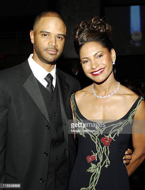 Dondre T Whitfield and Salli Richardson Whitfield