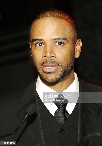 Dondre T Whitfield during A Candle in the Dark Gala 2006 at Hyatt Regency Hotel in Atlanta Georgia United States