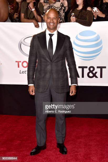 Dondre Whitfield attends the 49th NAACP Image Awards at Pasadena Civic Auditorium on January 15 2018 in Pasadena California