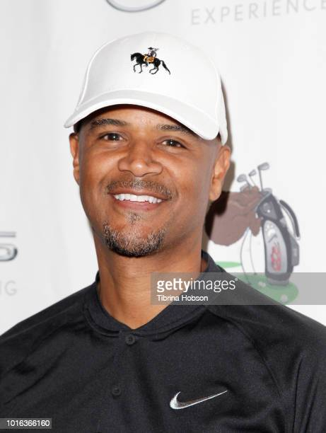 Dondre Whitfield attends the 6th annual Cedric The Entertainer Celebrity Golf Classic at El Caballero Country Club on August 13 2018 in Tarzana...