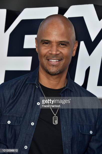 Dondre Whitfield attends the Premiere Of Focus Features' BlacKkKlansman at Samuel Goldwyn Theater on August 8 2018 in Beverly Hills California