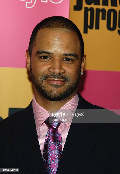 Dondre Whitfield during 'Jake in Progress' Second Season Premiere Viewing Party at The Belmont in Los Angeles California United States