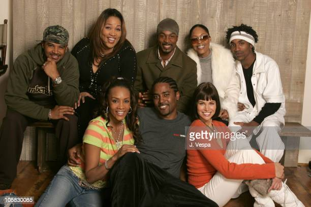 Dondre Whitfield Kym Whitley Darrin Dewitt Henson Monica Calhoun and De'Angelo Wilson Vivica A Fox Mark Brown director and Brooke Burns