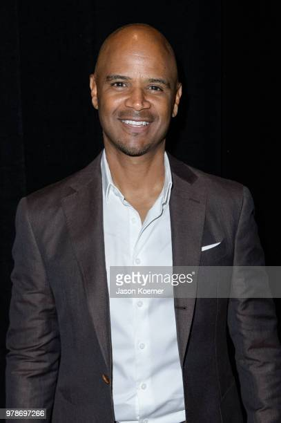 Dondre Whitfield poses for a portrait backstage during the American Black Film Festival Celebrity Scene Stealers Presented By TV One at Loews Miami...