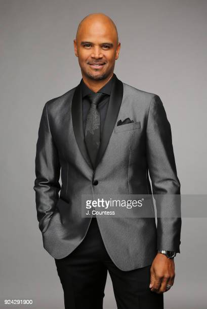 Dondre Whitfield poses for a portrait during the 2018 American Black Film Festival Honors Awards at The Beverly Hilton Hotel on February 25 2018 in...
