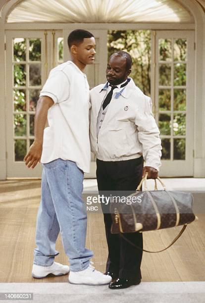 """Done: Part 1 & 2"""" Episode 23 & 24 -- Pictured: Will Smith as William 'Will' Smith, Joseph Marcell as Geoffrey -- Photo by: Paul Drinkwater/NBCU Photo..."""