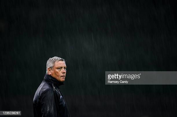 Donegal , Ireland - 13 September 2021; Bohemians manager Keith Long before the SSE Airtricity League Premier Division match between Finn Harps and...