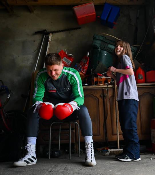 IRL: Boxer Jason Quigley Training in Isolation