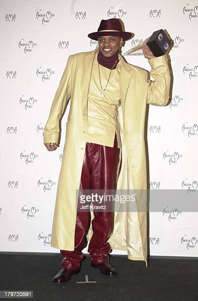 Donell Jones at the American Music Awards in Los Angeles on 1/8/01