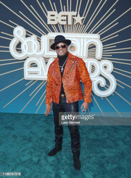 Donell Jones attends the 2019 Soul Train Awards presented by BET at the Orleans Arena on November 17 2019 in Las Vegas Nevada