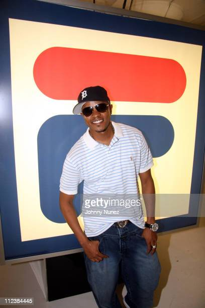 Donell Jones during Fila 73 Settrantatre Launch Party at Boylan Daylight Studios in New York New York United States