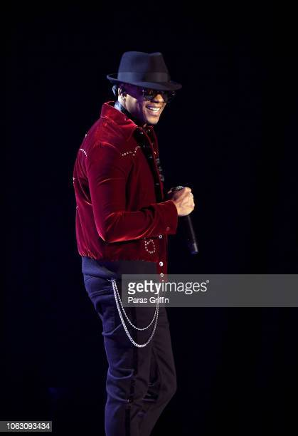 Donell Jones performs onstage during the 2018 Soul Train Awards presented by BET at the Orleans Arena on November 17 2018 in Las Vegas Nevada