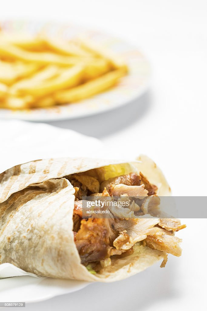 Doner kebab : Stock Photo