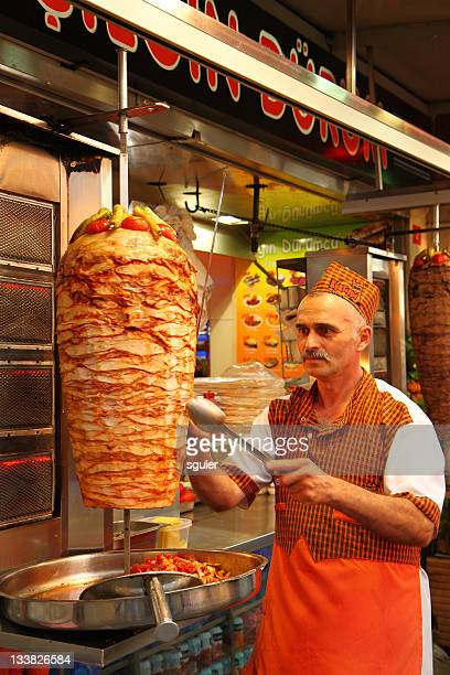 doner kebab,istanbul - doner kebab stock photos and pictures