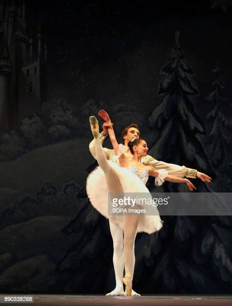 Donetsk Opera dancers seen performing The Nutcracker Ballet in Luhansk The Nutcracker is a classical ballet act written by Russian composer Pyotr...