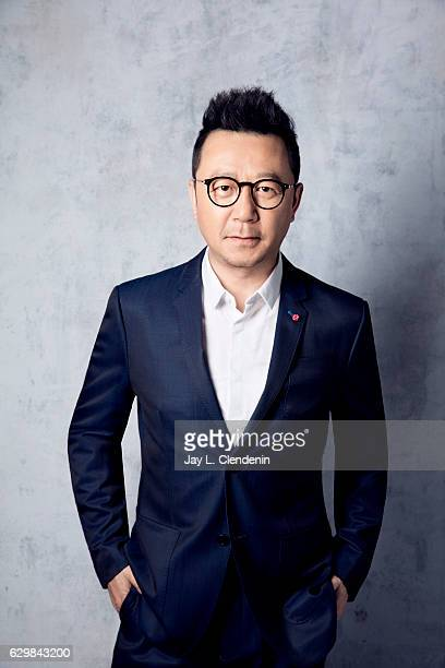 Dong Chengpeng poses for a portraits at the Toronto International Film Festival for Los Angeles Times on September 13 2016 in Toronto Ontario
