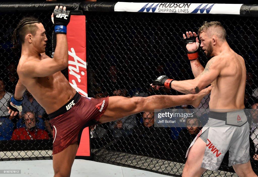 UFC 221: Brown v Kim : News Photo