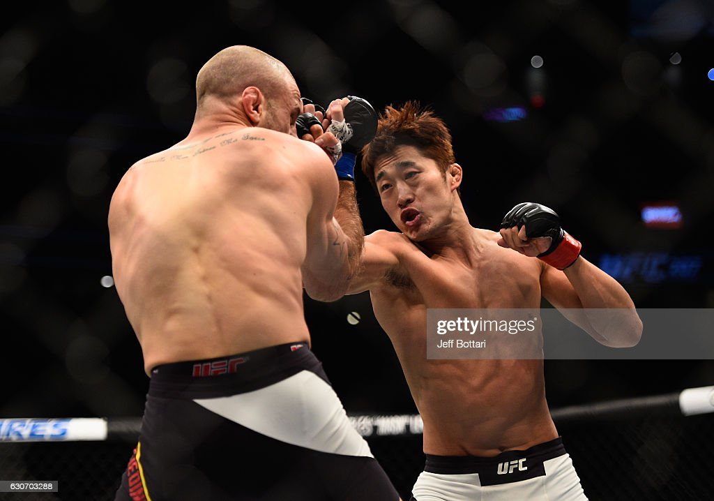 UFC 207: Kim v Saffiedine : News Photo