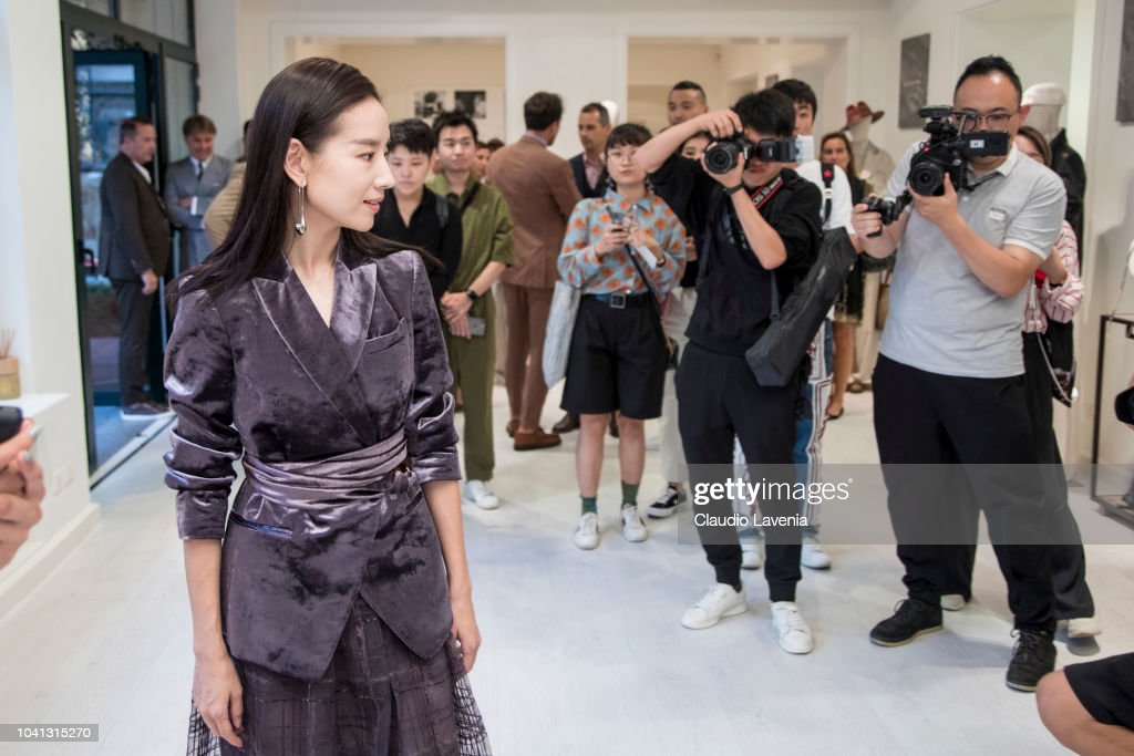 Brunello Cucinelli Presentation - Milan Fashion Week Spring/Summer 2019 : Foto jornalística