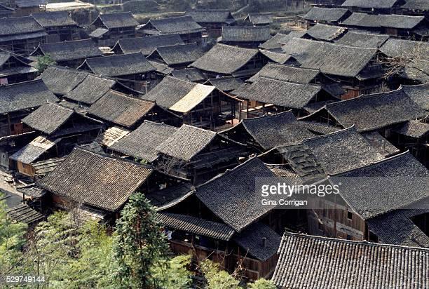 Dong village near Rongjiang, Guizhou, China, Asia