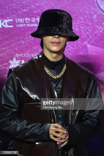 Donghae of South Korean boy band Super Junior attends the 29th Seoul Music Awards at Gocheok Sky Dome on January 30, 2020 in Seoul, South Korea.