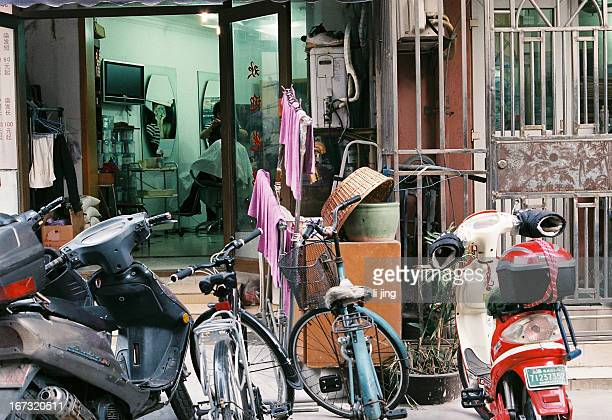 Dongjiadu, Shanghai Alley,China,human interest,Chinese,bicycle