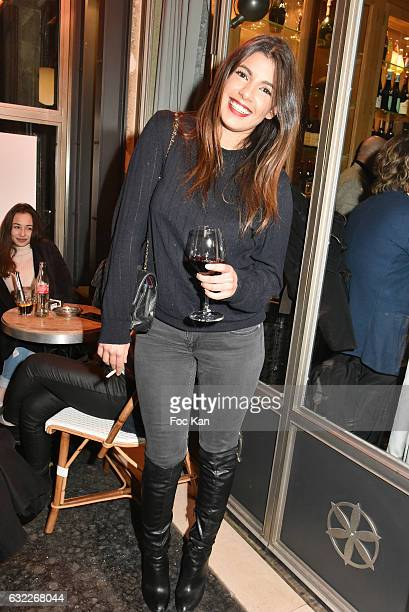 Donia Eden attends the Apero Tartiflette Party Hosted by Grand Seigneur Magazine at Bistrot Marguerite on January 20 2017 in Paris France