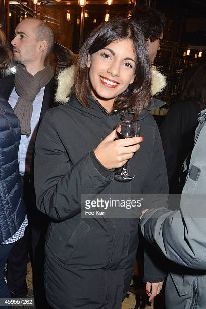 Donia Eden from Canal Plus TV attends the 'Les Fooding 2015' Ceremony Cocktail at Passage Panorama on November 24 2014 in Paris France